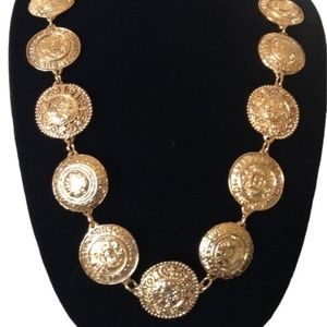 Gold Cambon Paris 31 Rue Plated / Necklace Belt